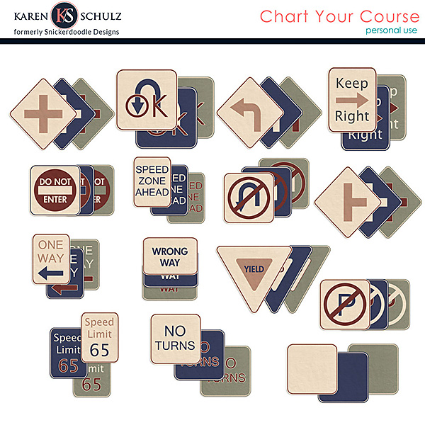 Chart Your Course Signs