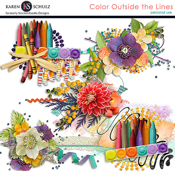 Color Outside the Lines Clusters