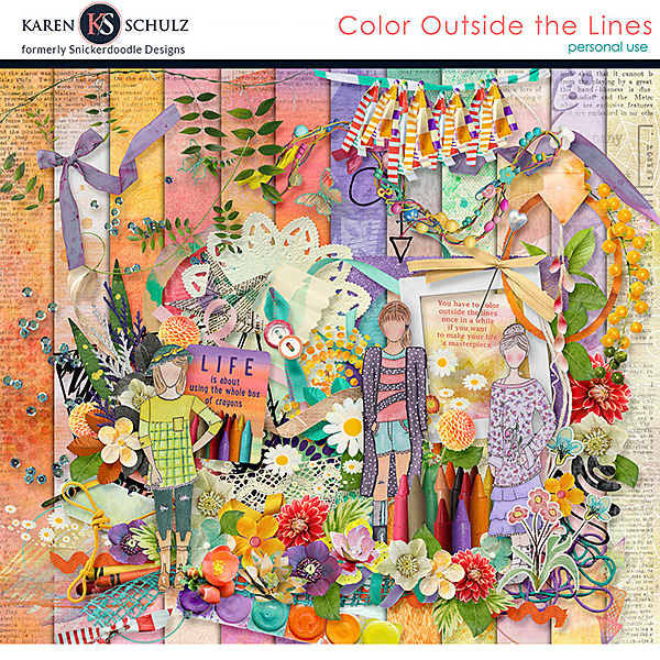 Color Outside the Lines Kit