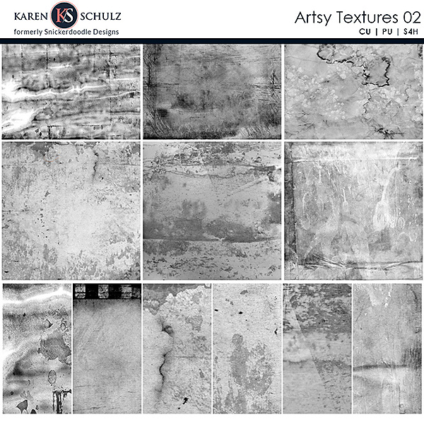Artsy Textures 02