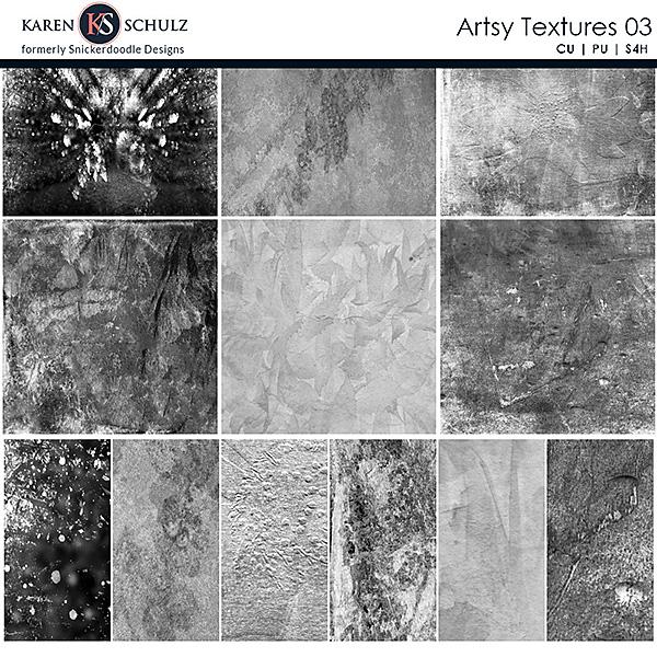 Artsy Textures 03