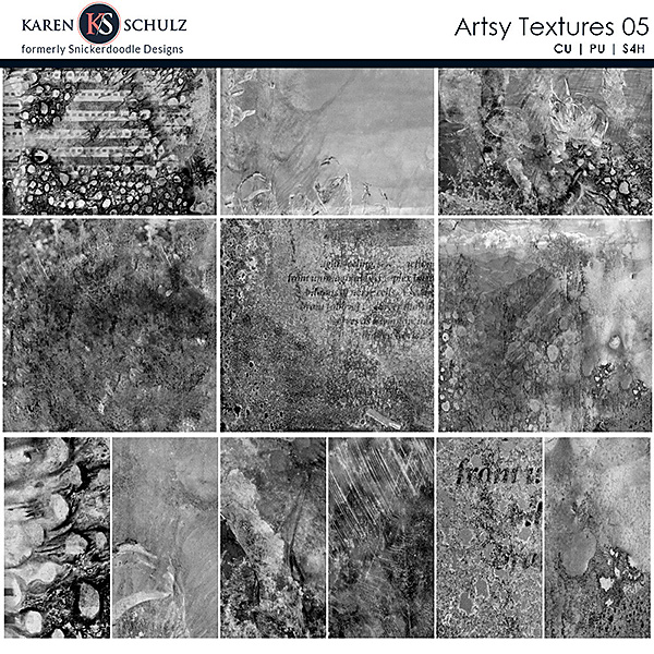 Artsy Textures 05