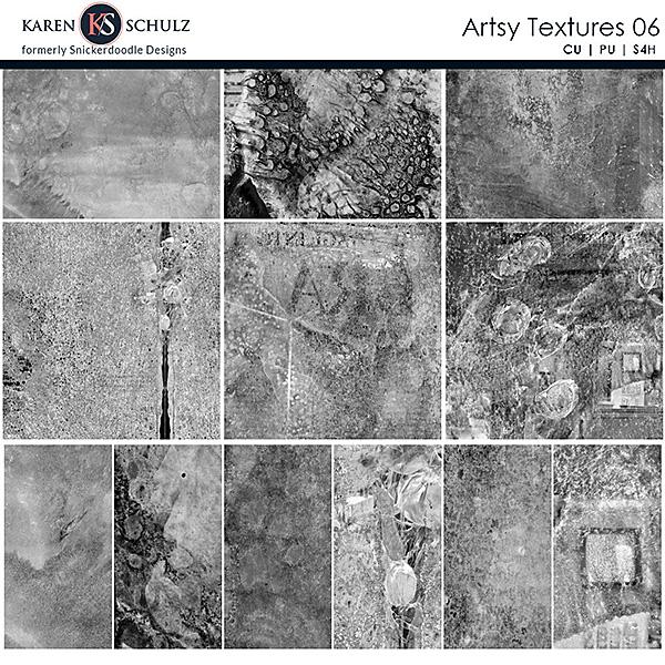 Artsy Textures 06