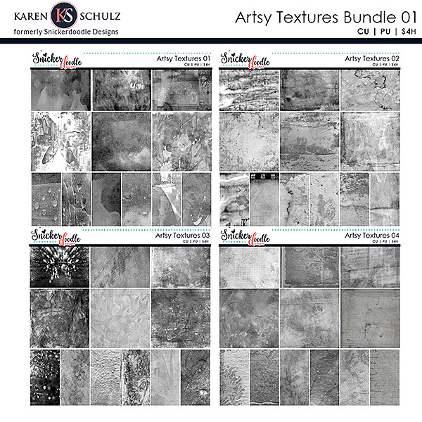 Artsy Textures Collection 01