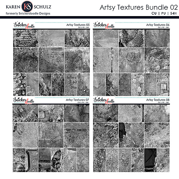 Artsy Textures Collection 02