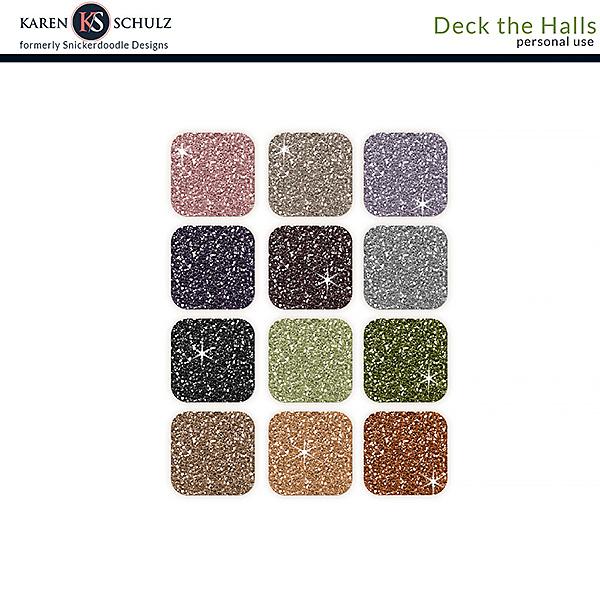 Deck the Halls Glitter