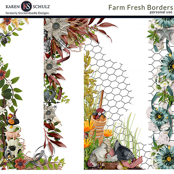 Farm Fresh Borders