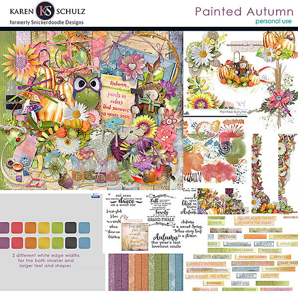 Painted Autumn Collection