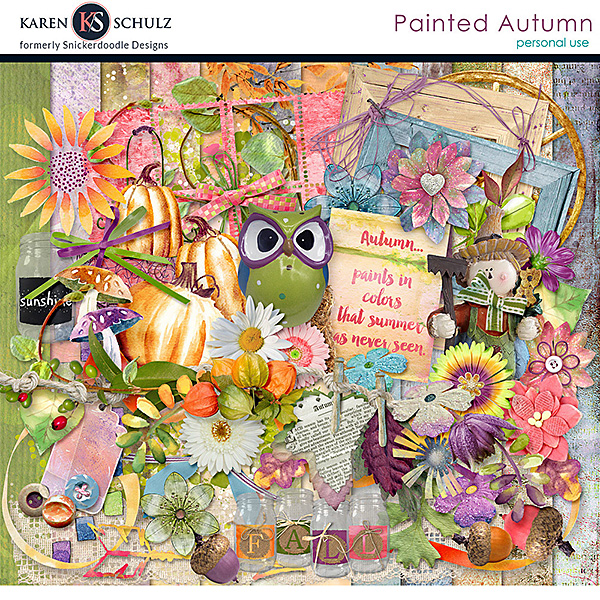Painted Autumn Kit