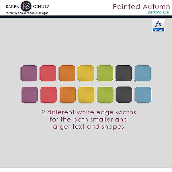 Painted Autumn Styles