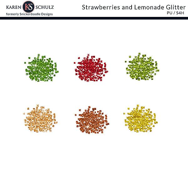 Strawberry Lemonade Glitter