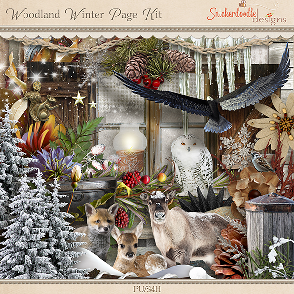 Woodland Winter Kit