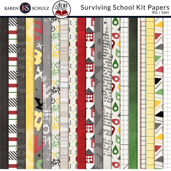Surviving-School-Kit-Papers-by-Karen-Schulz
