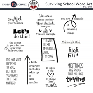 Surviving-School-Word-Art-Karen-Schulz