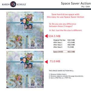 Space Saver Action by Karen Schulz