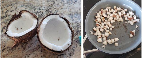 Survivor Coconut Popcorn Challenge