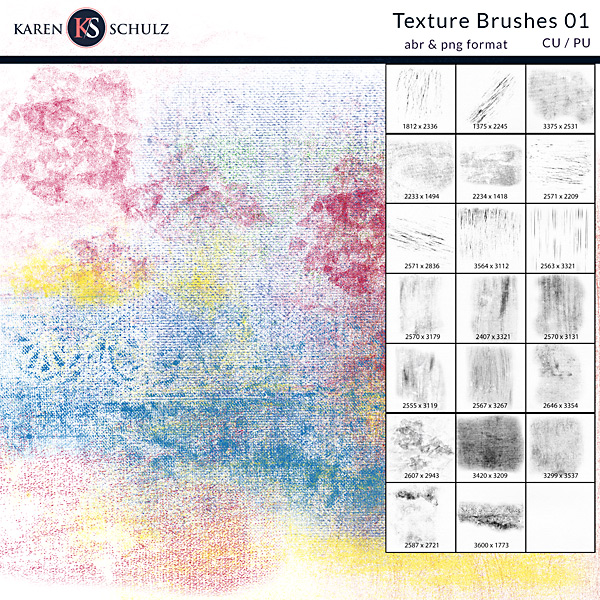 How to Use Textures Brushes