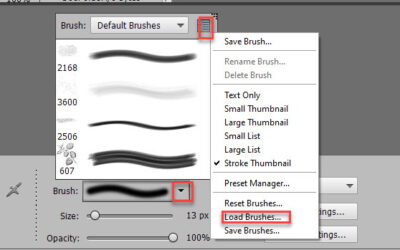 How to Load Brushes in Photoshop Elements