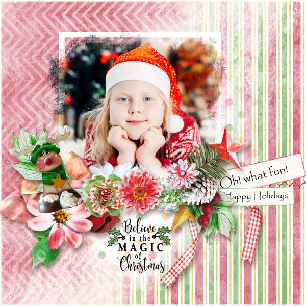 ouch of Christmas Layout 17