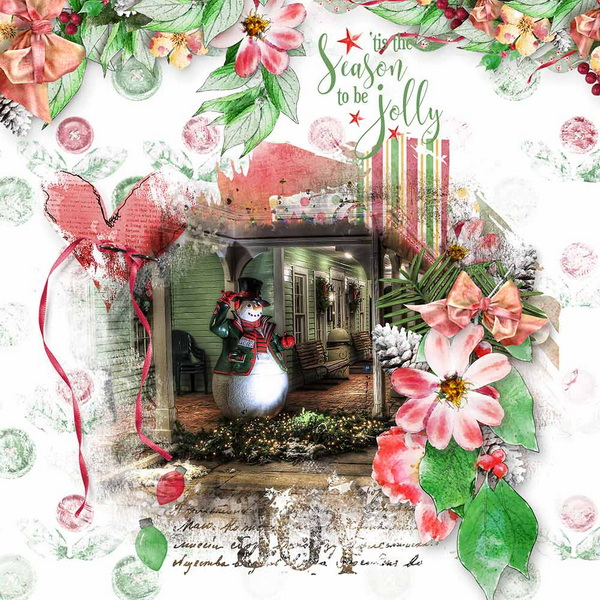 ouch of Christmas Layout 16