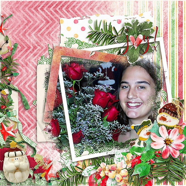 ouch of Christmas Layout 15