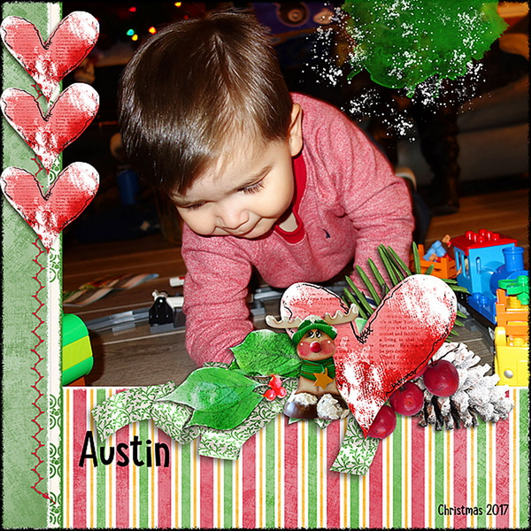 ouch of Christmas Layout 14