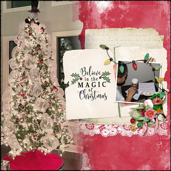 ouch of Christmas Layout 13