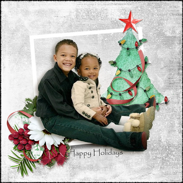 ouch of Christmas Layout 12
