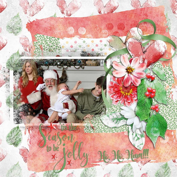 ouch of Christmas Layout 11