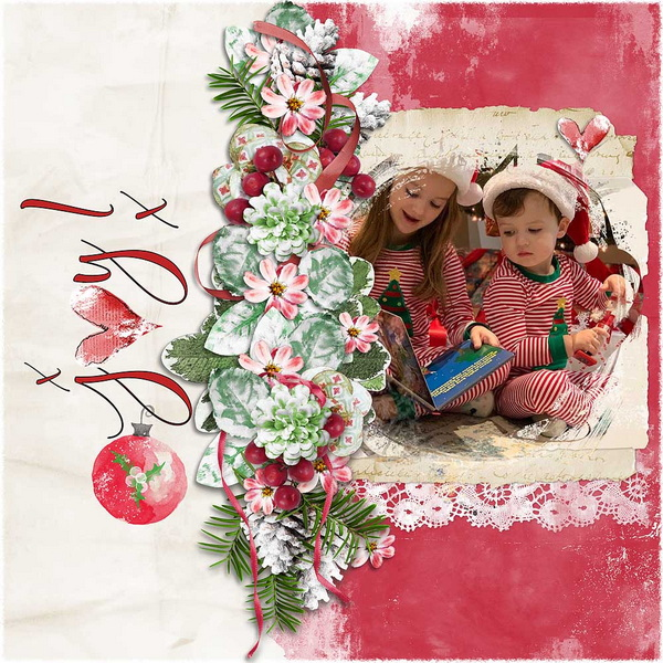 ouch of Christmas Layout 10