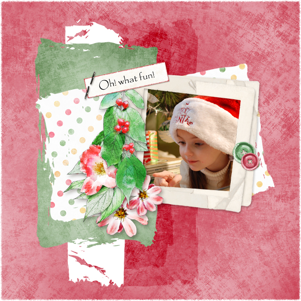 Touch of Christmas Layout 9