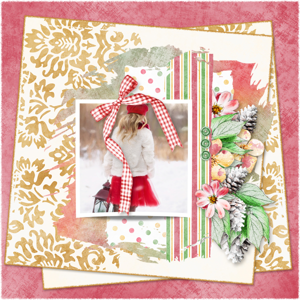 Touch of Christmas Layout 5