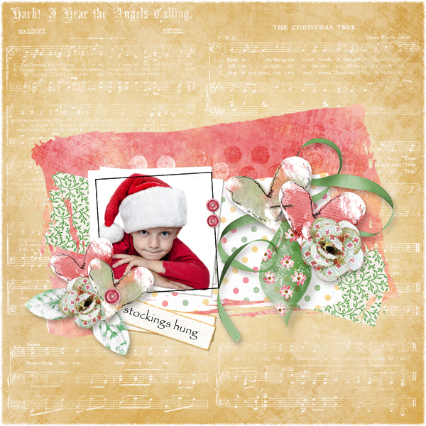 Touch of Christmas Layout 4