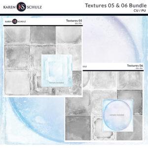 Textures 06 and 06 Bundle by Karen Schulz Designs