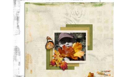 Add an Artsy Look to Your Digital Scrapbook Page Edges