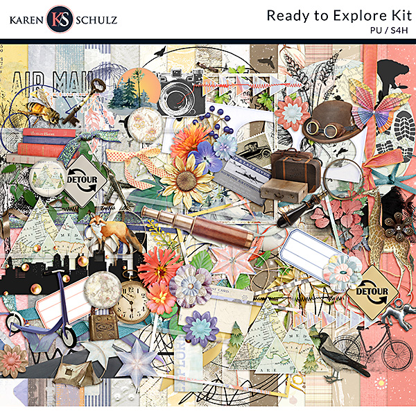 ready-to-ready-to-explore-digital-scrapbooking-borders-by-karen-schulzxplore-digital-scrapbooking-kit-by-karen-schulz